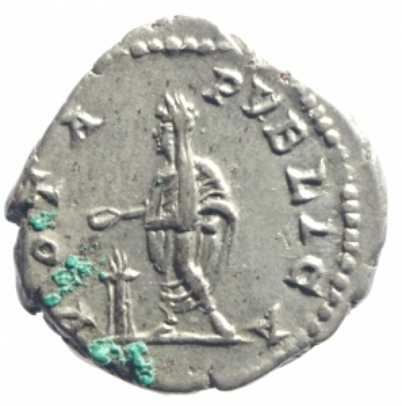 reverse: geta denario