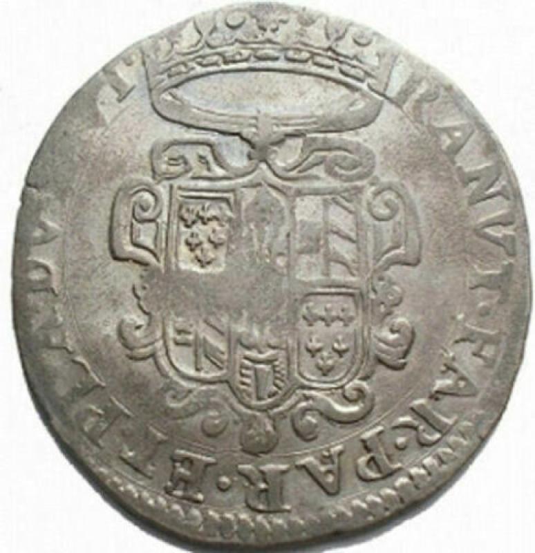 reverse: Zecche Italiane - Parma. Ranuccio II. Quarantano. gr 7,3. Buona argentatura
