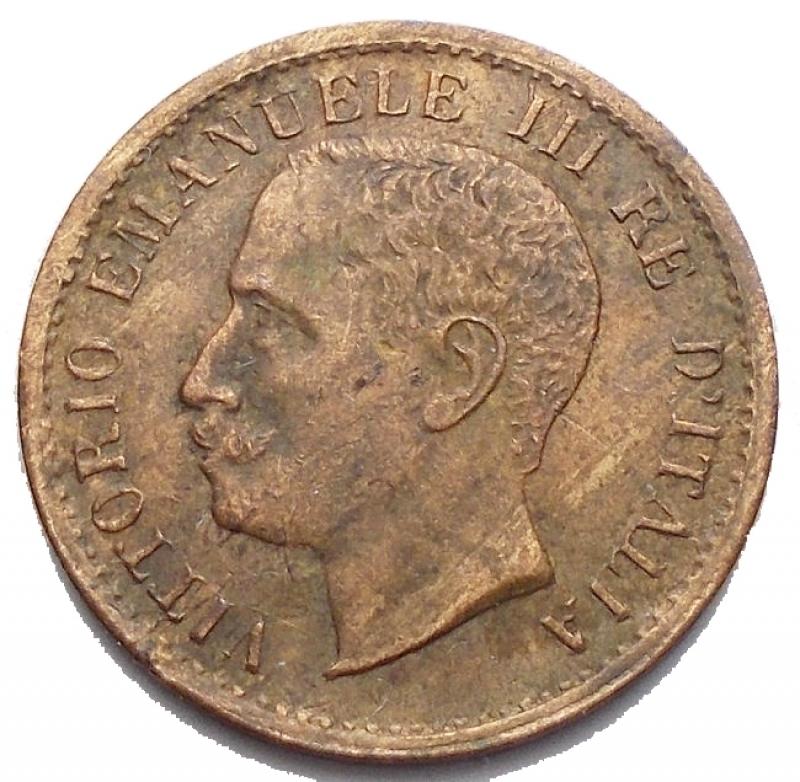 Medaglie e Pacchette - Medaglia in Cu a riprodurre 1 Centesimo 1902