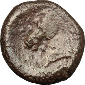 reverse: Anonymous.. AE Half Unit, Neapolis mint(?), after 276 BC