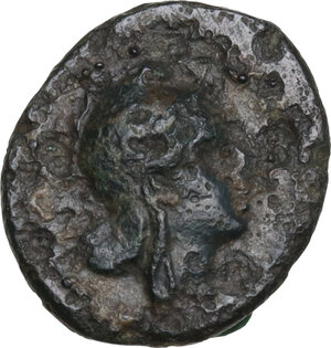 obverse: Anonymous. AE Half litre, 234-231 BC