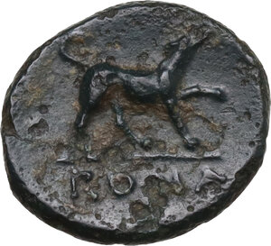 reverse: Anonymous. AE Half litre, 234-231 BC