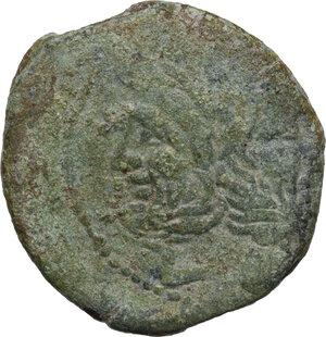 obverse: L. Cornelius Cinna.. AE As, c. 169-158 BC