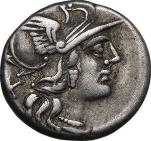 obverse: P. Aelius Paetus.. AR Denarius, 138 BC