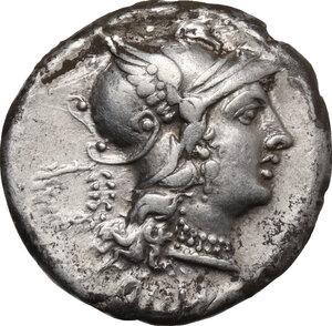 obverse: C. Servilius M.f.. AR Denarius, 136 BC