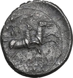 reverse: M. Opimius . AR Denarius, 131 BC