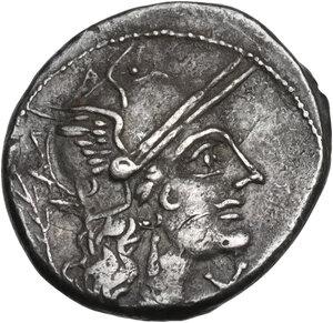 obverse: M. Papirius Carbo. Denarius, Rome mint, 122 BC
