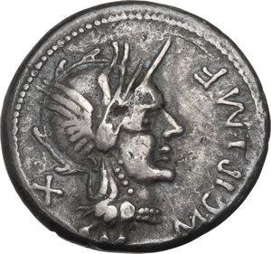 obverse: M. Cipius. Denarius, Rome mint, 115 or 114 BC