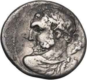 obverse: Ti. Quinctius. Denarius, Rome mint, 112 or 111 BC