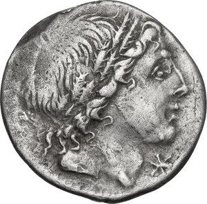 obverse: L. Memmius. Denarius, 109 or 108 BC