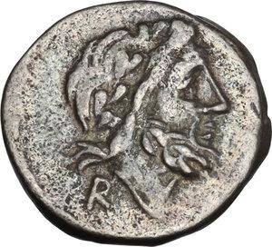 obverse: T. Cloulius. Quinarius, 98 BC