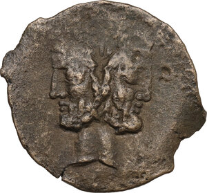 obverse: Anonymous. AE As, 91 BC
