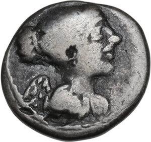 obverse: Q. Titius. Quinarius, 90 BC