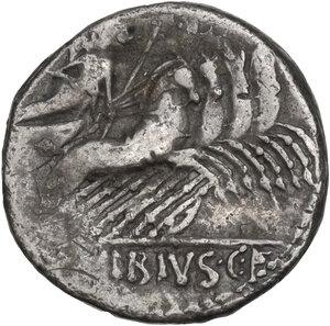 reverse: C. Vibius Pansa. Denarius, Rome mint, 90 BC