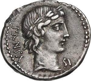 obverse: C. Vibius Pansa. AR Denarius, 90 BC