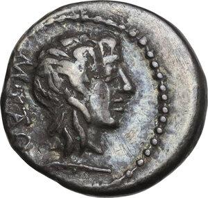 obverse: M. Cato. Quinarius, 89 BC