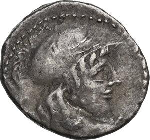 obverse: Cn. Cornelius Lentulus Clodianus. Denarius, Rome mint, 88 BC