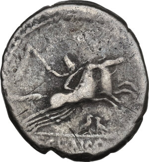 reverse: C. Censorin. Denarius, Rome mint, 88 BC