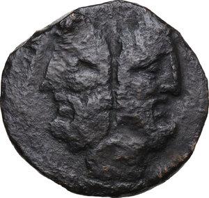 obverse: Gargilius, Ogulnius and Vergilius. . AE As, 86 BC