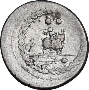 reverse: Mn. Fonteius. AR Denarius, 85 BC