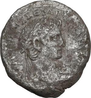obverse: Claudius (41-54).. AR Tetradrachm, Alexandria mint (Egypt), dated RY 3 (42-43)
