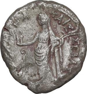 reverse: Claudius (41-54).. AR Tetradrachm, Alexandria mint (Egypt), dated RY 3 (42-43)