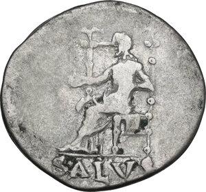 reverse: Nero (54-68).. AR Denarius, 66-67