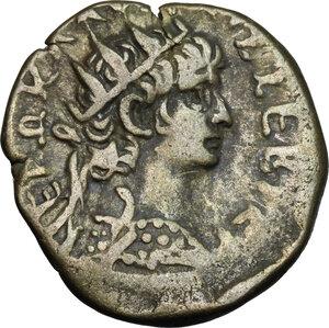 obverse: Nero (54-68).. BI Tetradrachm, Alexandria mint, 65-66