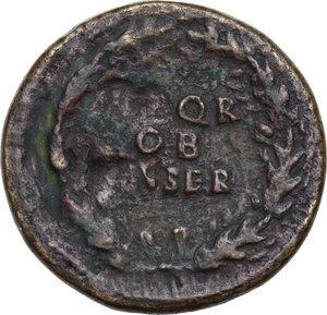 reverse: Galba (68-69).. AE Sestertius