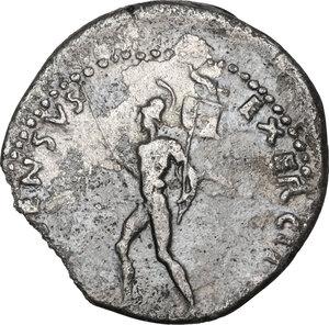 reverse: Vitellius  (April – December 69). AR Denarius, 69 AD, Tarraco mint