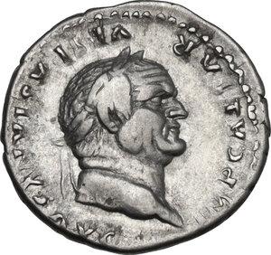 obverse: Vespasian (69-79).. AR Denarius, 76 AD