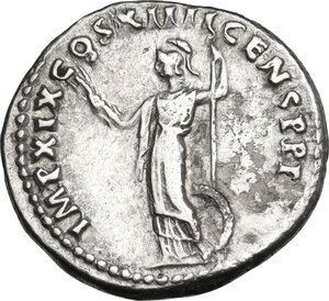 reverse: Domitian (81-96).. AR Denarius, 88-89