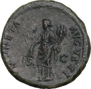 reverse: Domitian (81-96).. AE As, 92-94