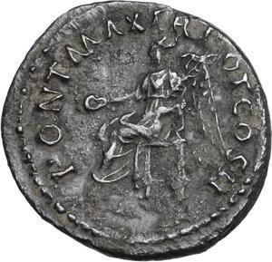 reverse: Trajan (98-117 AD).. AR Denarius, 98-99