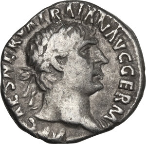 obverse: Trajan (98-117).. AR Denarius, 101-102