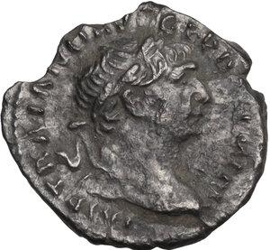 obverse: Trajan (98-117).. AR Quinarius, 103-111