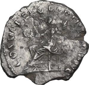 reverse: Trajan (98-117).. AR Quinarius, 103-111