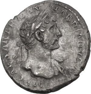 obverse: Hadrian (117-138).. AR Denarius, 119-122 AD