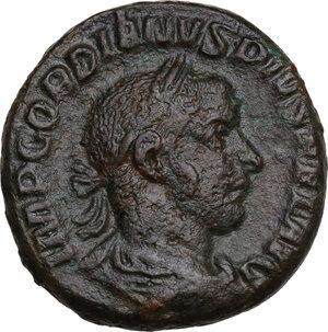 obverse: Gordian III (238-244).. AE As, 244 AD