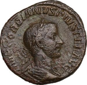 obverse: Gordian III (238-244).. AE Sestertius, 243 AD