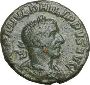 obverse: Philip I (244-249).. AE As, 244-249 AD