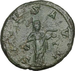 reverse: Philip I (244-249).. AE As, 244-249 AD