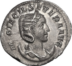 obverse: Otacilia Severa, wife of Philip I (244-249).. AR Antoninianus, 246-248