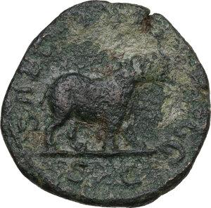 reverse: Otacilia Severa, wife of Philip I (244-249).. AE Sestertius, 248 AD