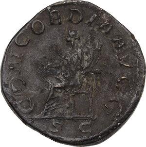 reverse: Otacilia Severa, wife of Philip I (244-249).. AE Sestertius