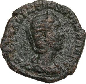 obverse: Otacilia Severa, wife of Philip I (244-249).. AE Sestertius. Struck under Philip I