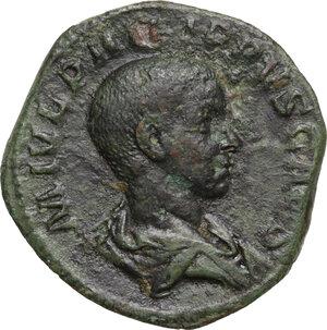 obverse: Philip II (244-249).. AE Sestertius, 245 AD