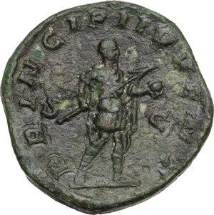 reverse: Philip II (244-249).. AE Sestertius, 245 AD