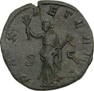 reverse: Philip II (244-249).. AE Sestertius, 246-249