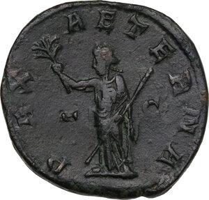 reverse: Philip II (244-249).. AE Sestertius, 246-248